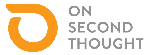 logo for onsecondthought